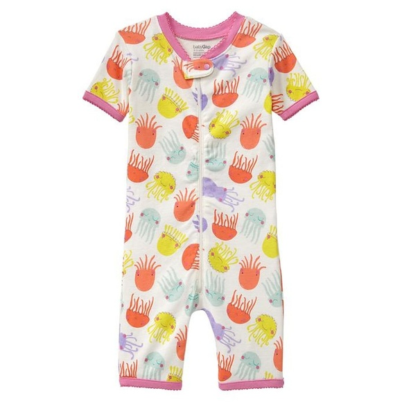 Alert Baby Gap Under The Sea Pj Set Clothing, Shoes & Accessories 12-18m Moderate Price Girls' Clothing (newborn-5t)